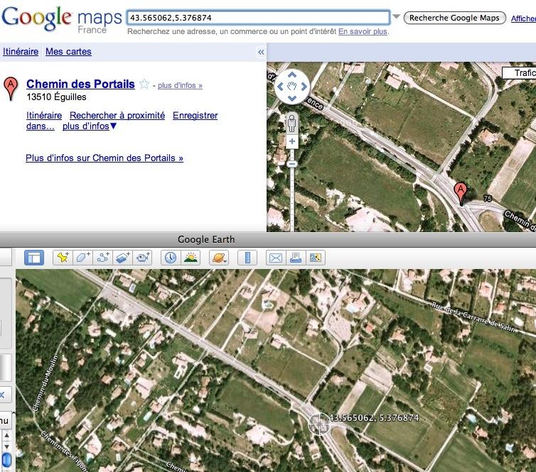 Problème coordonnées inexactes dans google earth Image_88