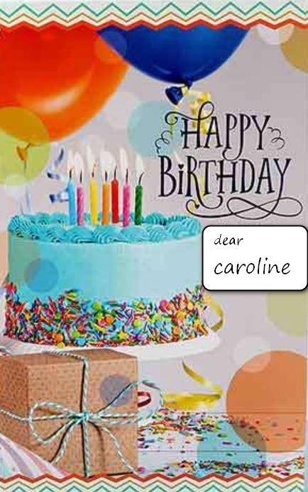 Bon anniversaire Caroline 10510