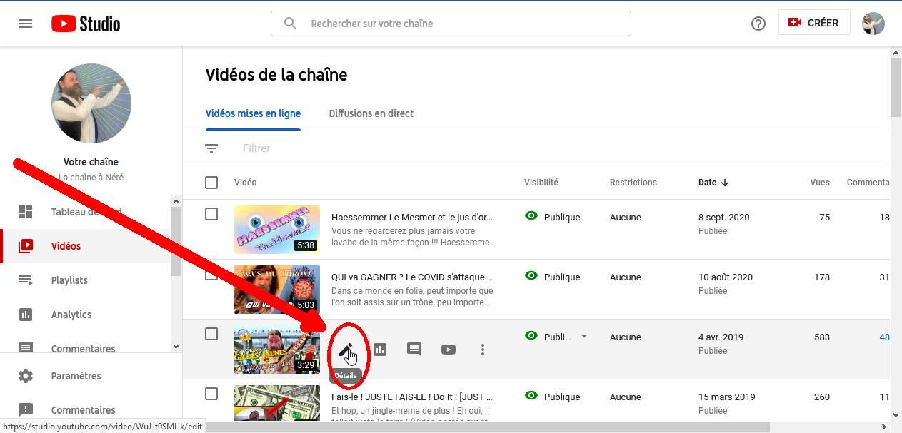 Les Sous-Titres sur YouTube 02vide10