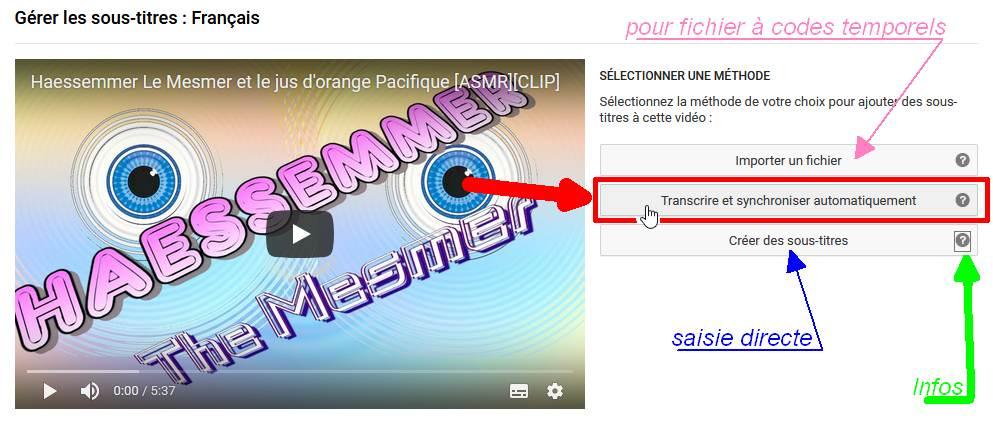 Les Sous-Titres sur YouTube 06choi10