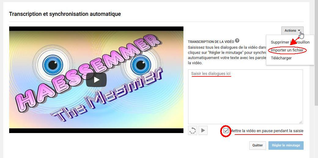 Les Sous-Titres sur YouTube 07impo10