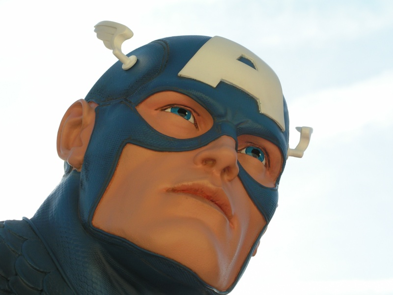 CAPTAIN AMERICA Legendary scale bust Captai30