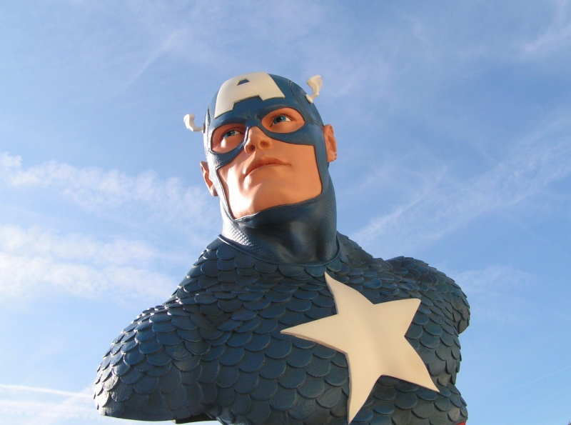 CAPTAIN AMERICA Legendary scale bust Captai31