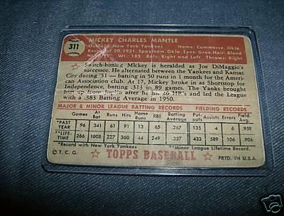 1952 Topps Mantle fake ? Fake_m10