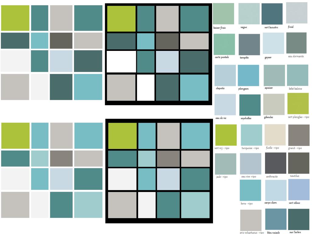 Tableau à base de carrés de couleur Tablea10