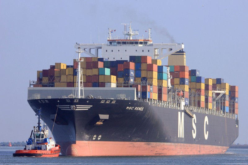 Le port d'Anvers Msc_re10