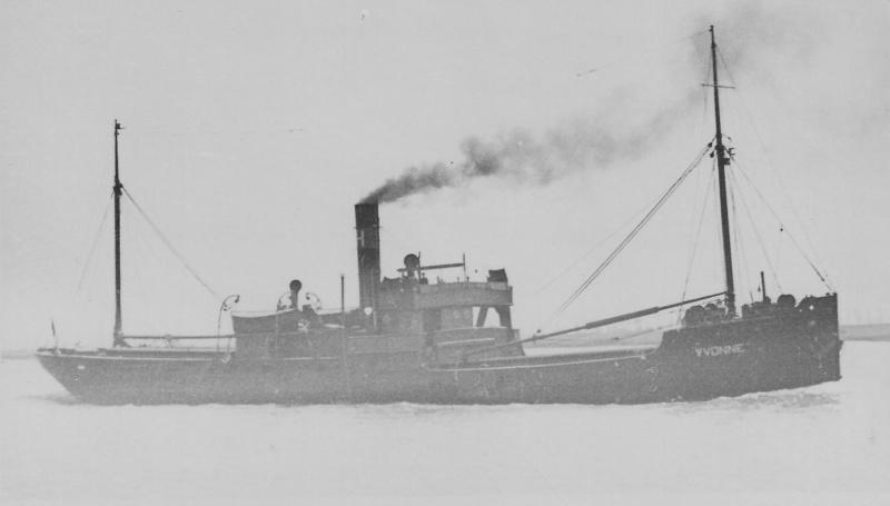 """caboteur """"Yvonne"""", 1899, armement L. Hermans, cherche infos Yvonne11"""