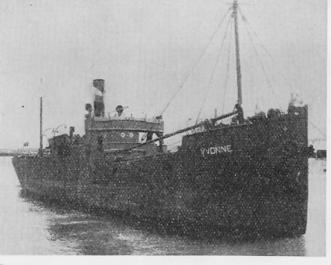 """caboteur """"Yvonne"""", 1899, armement L. Hermans, cherche infos Yvonne13"""