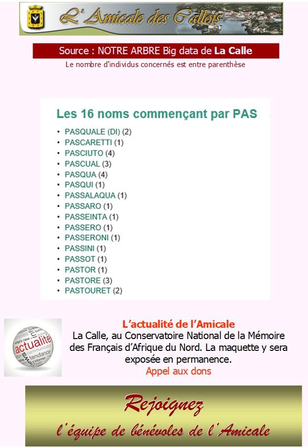 Les patronymes en lien avec La Calle commençant par P Pas_co10