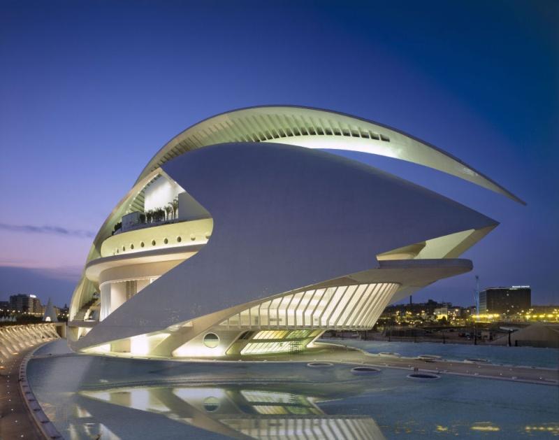 Cité des Arts et des Sciences à Valencia (Espagne) 10002011