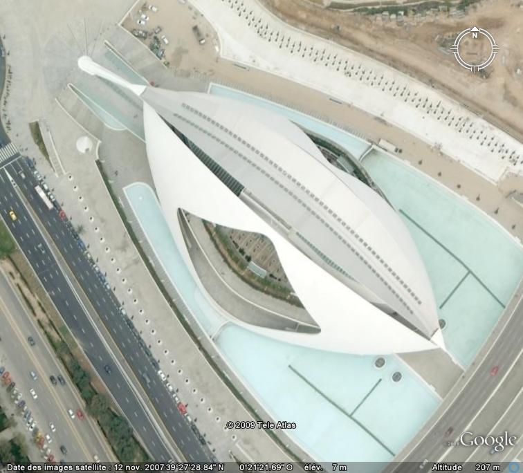Cité des Arts et des Sciences à Valencia (Espagne) Opera_11