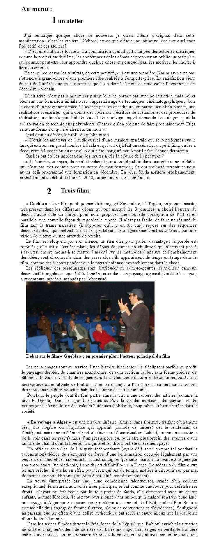 cinéma à Saïda par aouad djillali Cinama11