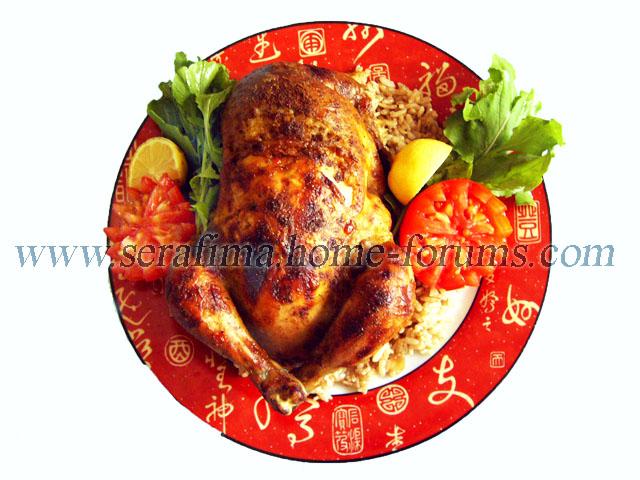 Фаршированная курица - 2. Джадж махшы. Арабская кухня Imag0422