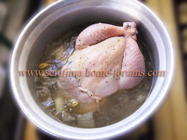 Фаршированная курица - 2. Джадж махшы. Арабская кухня Imag0423