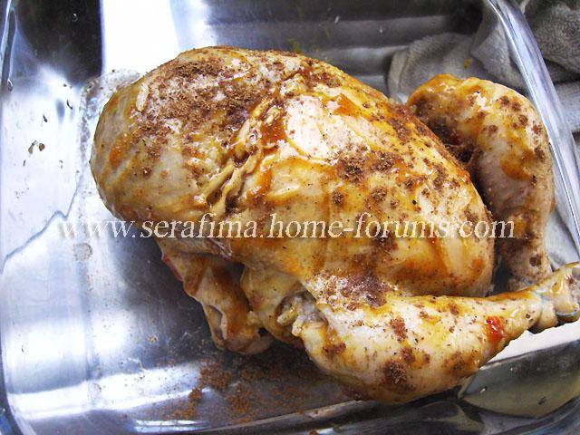 Фаршированная курица - 2. Джадж махшы. Арабская кухня Imag0425