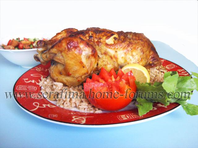 Фаршированная курица - 2. Джадж махшы. Арабская кухня Imag0426