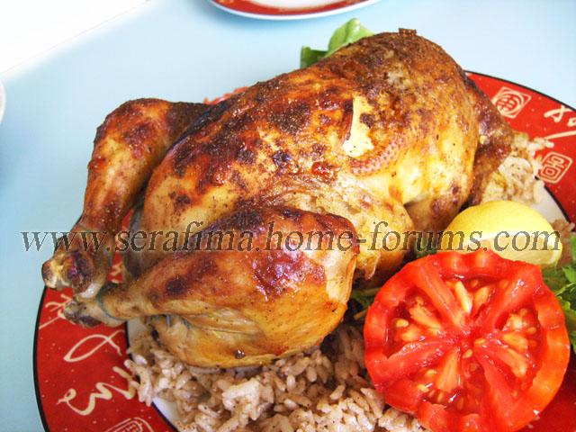 Фаршированная курица - 2. Джадж махшы. Арабская кухня Imag0427
