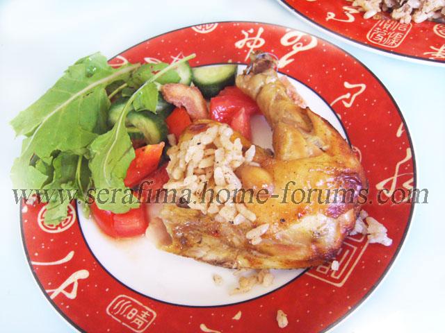 Фаршированная курица - 2. Джадж махшы. Арабская кухня Imag0428