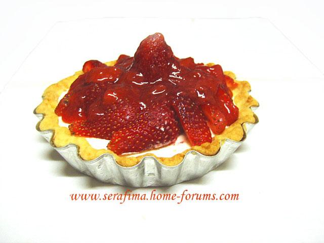 Тарталетки (тарт) с кримчизом и клубникой Imag0515