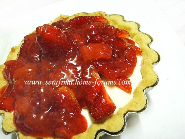 Тарталетки (тарт) с кримчизом и клубникой Imag0517