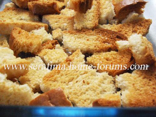 Айш (эйш) сарАя - хлеб богачей. Арабская кухня Imag0529