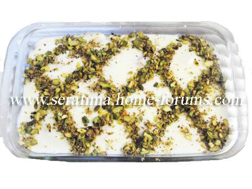 Айш (эйш) сарАя - хлеб богачей. Арабская кухня Imag0535