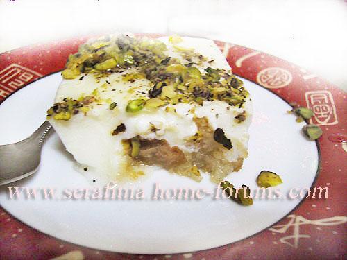 Айш (эйш) сарАя - хлеб богачей. Арабская кухня Imag0536