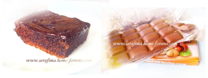 Супер шоколадные пирожные с пропиткой Shokot10