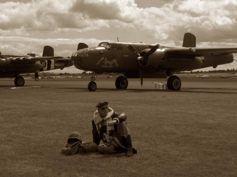MEETING DUXFORD 2009 avec vétéran 506PIR 101 éme AIRBORNE Duxfor17