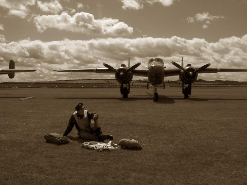MEETING DUXFORD 2009 avec vétéran 506PIR 101 éme AIRBORNE Duxfor18