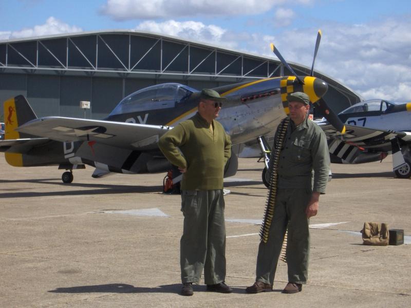 MEETING DUXFORD 2009 avec vétéran 506PIR 101 éme AIRBORNE Duxfor19