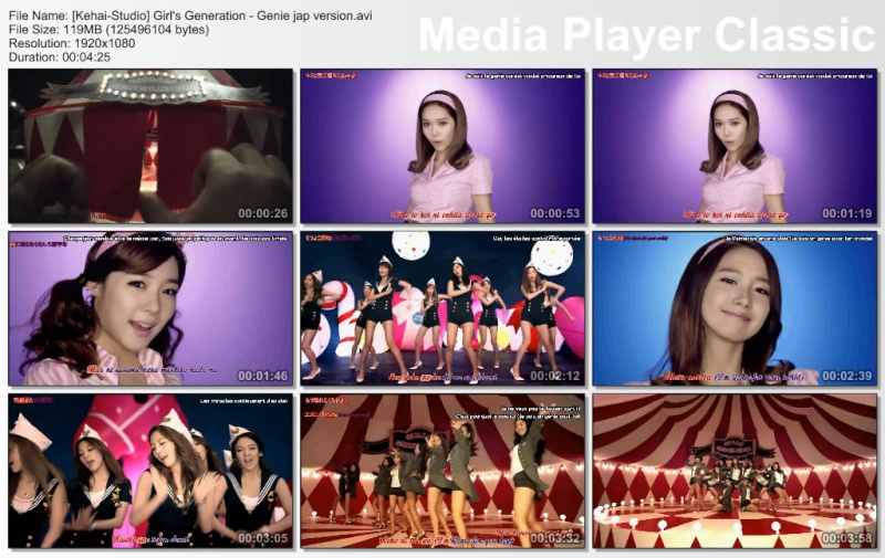[K-music + J-music] Girls' Generation (SNSD) - Tell Me Your Wish (Genie) Thumbs10