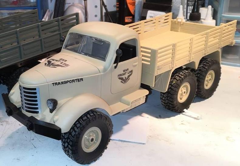 SERIE de camion militaires low cost WPL 43828210