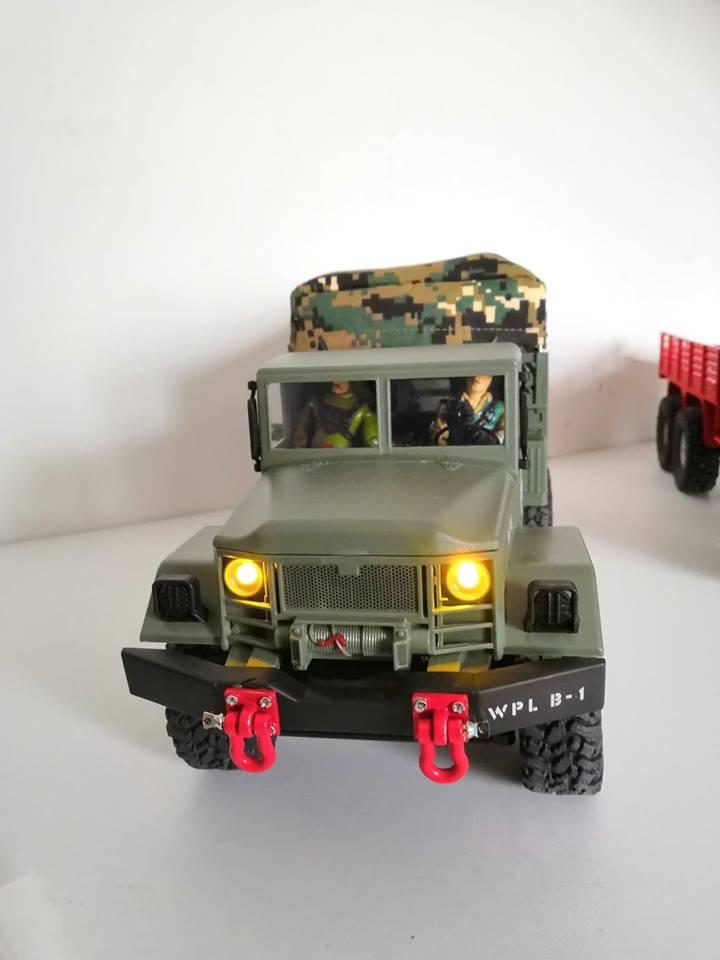 SERIE de camion militaires low cost WPL 45288210