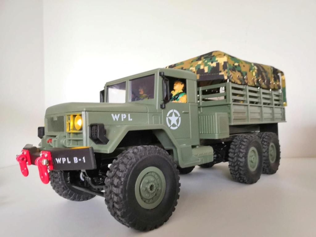 SERIE de camion militaires low cost WPL 45364210