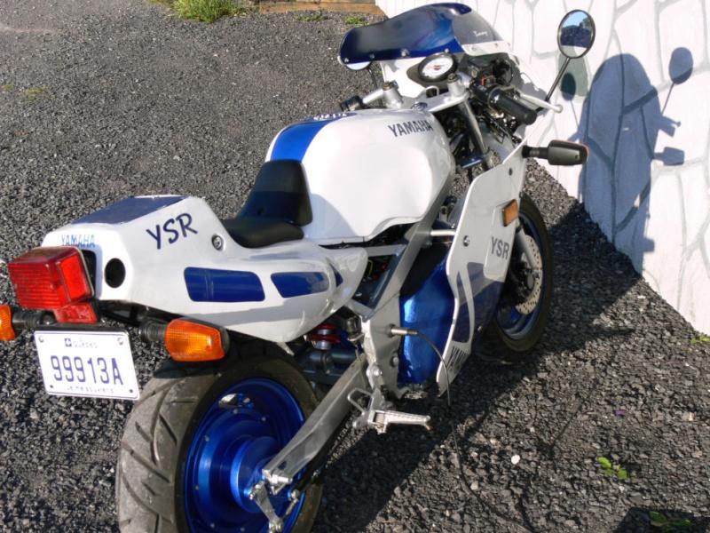 Ma moto électrique HOMOLOGUEE pour la route: la yamaha eYSR Cotear10