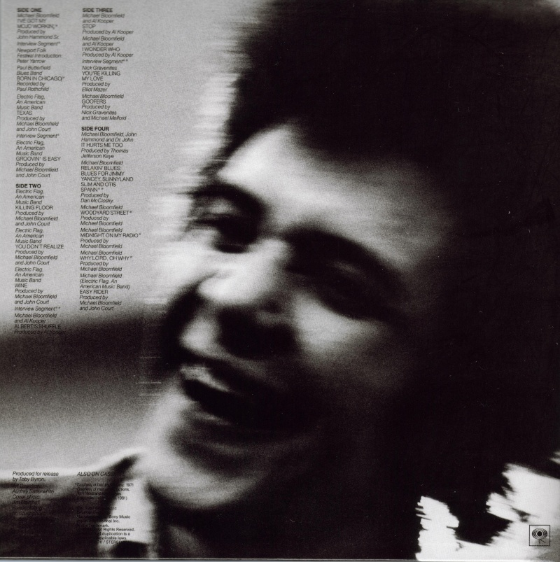 Michael Bloomfield : A Retrospective (1983) Back10