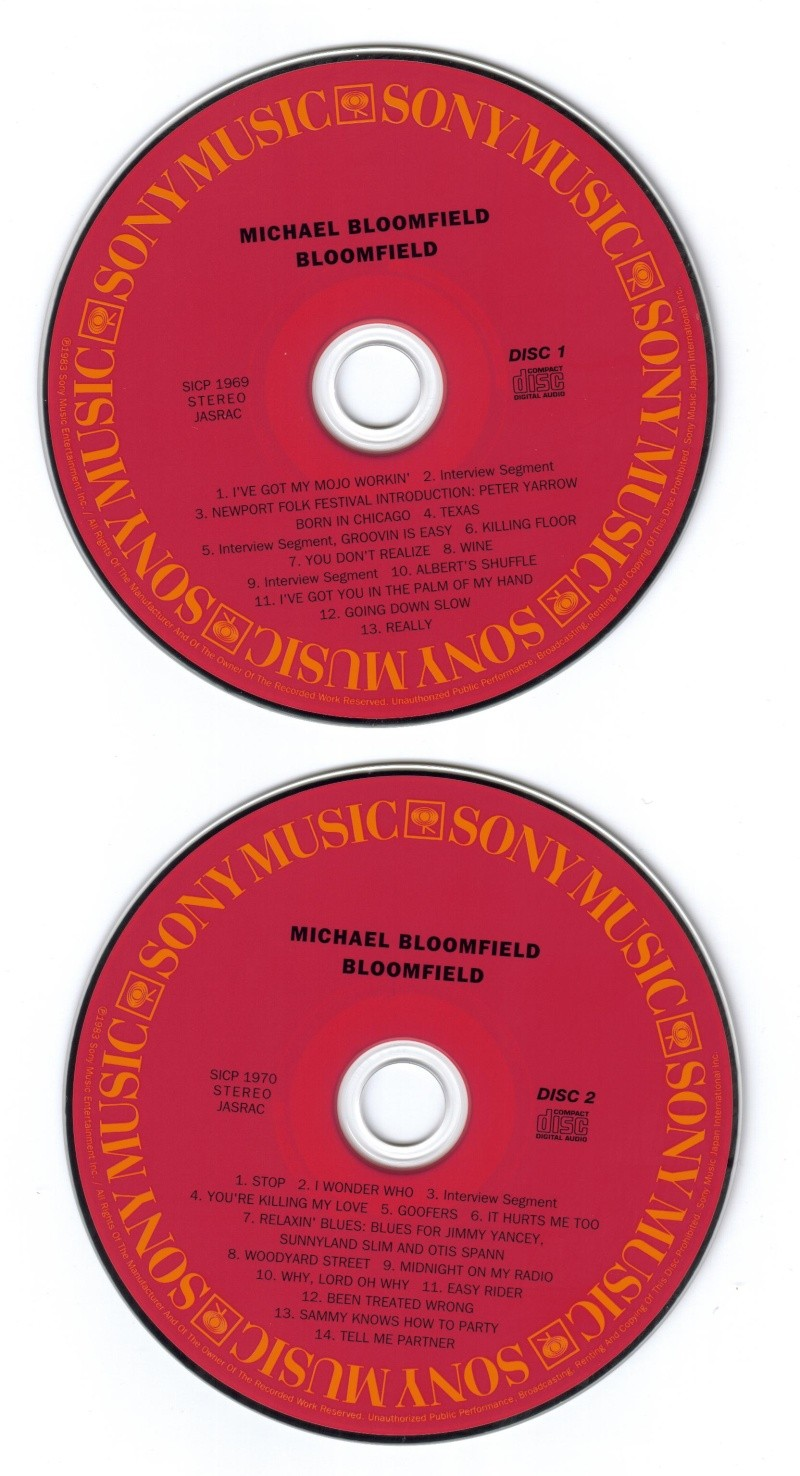 Michael Bloomfield : A Retrospective (1983) Disc10