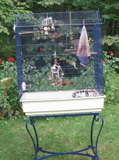 Je cherche une grande cage Volier10