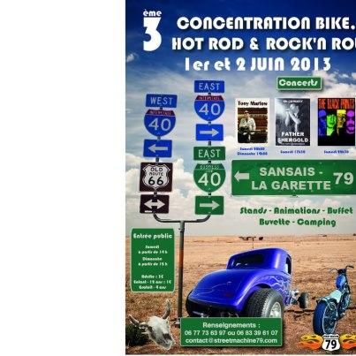 BIKES,HOT ROD & ROCK'N ROLL A SANSAIS LA GARETTE 54149410