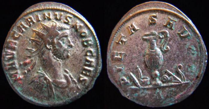 carus - Tacite, Florien, Carus, Numérien, Carin Carinu14