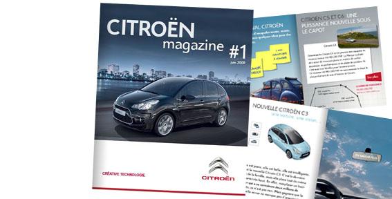 [DOCUMENTATION] Citroën Magazine N40110