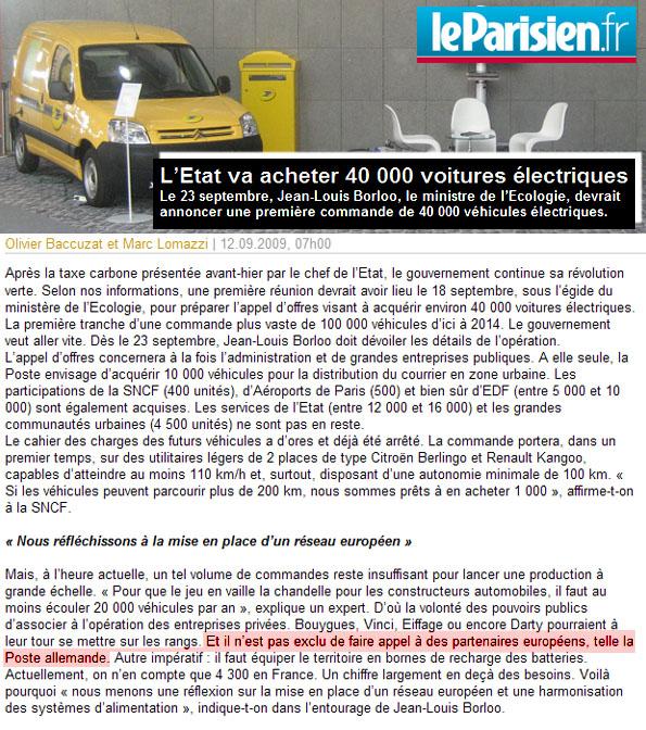 [Actualité] 500 Berlingo/Partner ELECTRIQUES pour La Poste ? - Page 2 R4510
