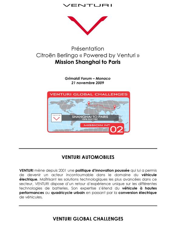 [Information] Shanghaï to Paris – 100% electrique T113
