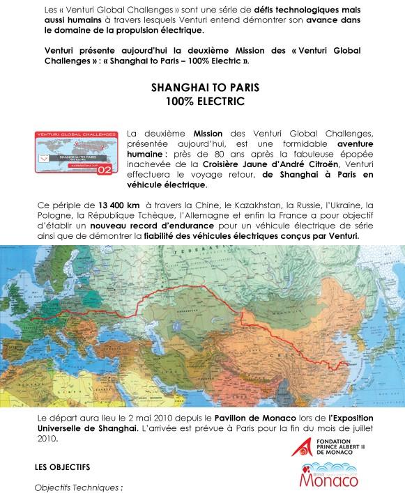 [Information] Shanghaï to Paris – 100% electrique T213