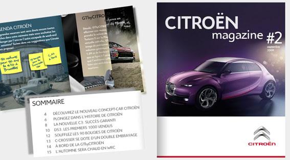[DOCUMENTATION] Citroën Magazine Z811