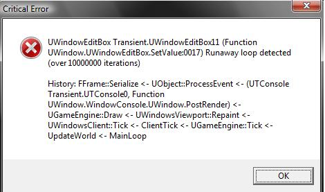 Another Problem, am I gonna have to reinstall? Nother10
