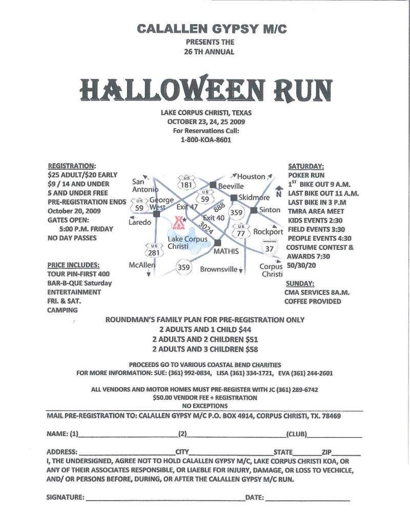 Calallen Halloween Rally Calall10