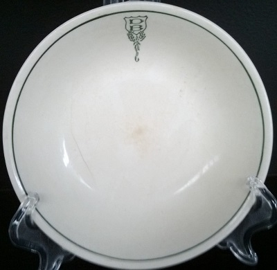 DB Ltd Cup and Plate Db10