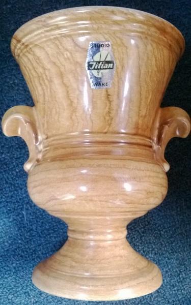 Breathtaking Titian Studio Woodgrain Vase ...... Titian12